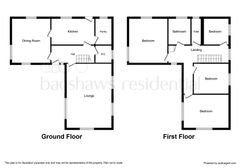 Floorplan 1 of 2 for Wood End, Wood End Lane