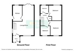 Floorplan 1 of 2 for 50 Clos-Y-Deri