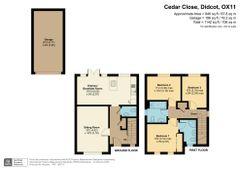 Floorplan 1 of 1 for 1 Cedar Close