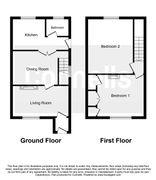 Floorplan 1 of 1 for Cornflower Cottage, Station Road