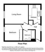 Floorplan 1 of 1 for 24 Halifield Drive