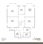Floorplan 1 of 1 for 1a Melville Place