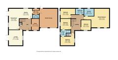 Floorplan 1 of 1 for 5 Kitchen Gardens