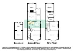 Floorplan 1 of 1 for 164 Gladstone Road