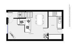 Floorplan 1 of 2 for 2, St. Germans Mews, Metal Street