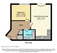 Floorplan 1 of 1 for 10, Solly Street Apartments, 158 Solly Street
