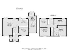 Floorplan 1 of 1 for 1 Begonia Place