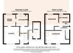 Floorplan 1 of 1 for 36 Consett Road
