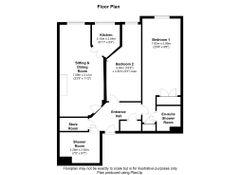 Floorplan 1 of 1 for 11, Sudweeks Court, New Park Street