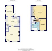 Floorplan 1 of 1 for 1, Mealors New Cottages, Well Lane