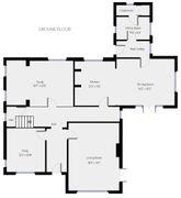Floorplan 1 of 3 for Oak House, Grundisburgh Road