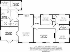 Floorplan 1 of 1 for Meadow Farm, Mead Lane