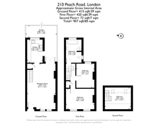 Floorplan 1 of 1 for 210 Peach Road