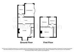 Floorplan 1 of 2 for Hillend Cottage, The Hill