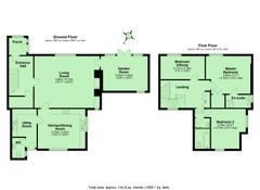 Floorplan 1 of 1 for Rowden Cottage, Collapit