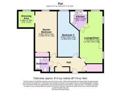 Floorplan 1 of 1 for 24, Sudweeks Court, New Park Street