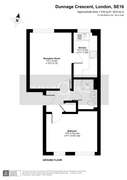 Floorplan 1 of 1 for Flat B, 7 Dunnage Crescent