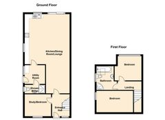 Floorplan 1 of 1 for Shearwater, St. Brides Lane