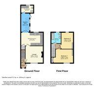 Floorplan 1 of 1 for 2, Station Cottages, Ulleskelf