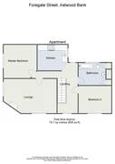 Floorplan 1 of 2 for 8a Foregate Street