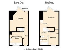 Floorplan 1 of 1 for 4 St. Marys Court