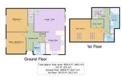 Floorplan 1 of 1 for 8 Fairoaks Close