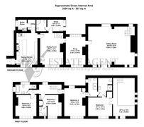 Floorplan 1 of 1 for Stevenson House, Burlees Lane