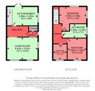 Floorplan 1 of 1 for 30 Fforchaman Road