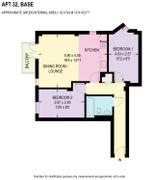 Floorplan 1 of 1 for Apartment 32, Base, 2 Trafalgar Street