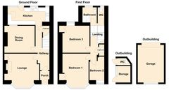 Floorplan 1 of 1 for Meadway, Greenhill Road