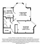 Floorplan 1 of 1 for 3, Beech Lodge, Hartford Court