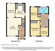Floorplan 1 of 1 for 26 Partridge Close