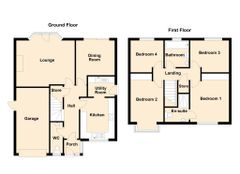 Floorplan 1 of 1 for 2 Hey Hill Close