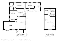 Floorplan 1 of 1 for Craig Y Castell Lodge, Allt Y Graig