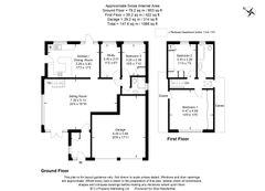 Floorplan 1 of 1 for Greensleeves, Bradenham Woods Lane