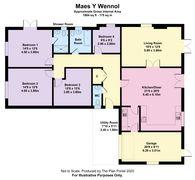 Floorplan 1 of 1 for 2 Maes Castell