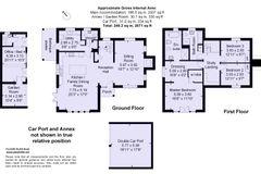 Floorplan 1 of 1 for Oak House, Feckenham Road