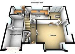 Floorplan 1 of 2 for 18 Laburnum Avenue