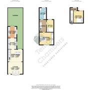 Floorplan 1 of 1 for 3, Prospect Cottages, Alms House Lane