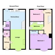 Floorplan 1 of 1 for Erwfach,
