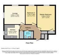 Floorplan 1 of 1 for 46 Wyre Court, Highbury Avenue