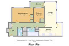 Floorplan 1 of 1 for Flat 11, Brampton Tower, Bassett Avenue