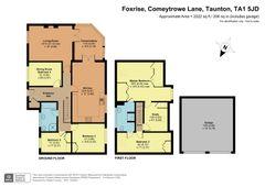 Floorplan 1 of 1 for Foxrise, North Town Lane, Wood Street
