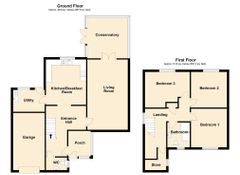 Floorplan 1 of 1 for 27 Ael Y Bryn