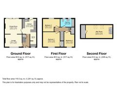 Floorplan 1 of 1 for 73 Countisbury Avenue