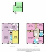 Floorplan 1 of 2 for 4 Harfield Close