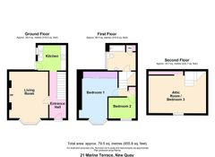 Floorplan 1 of 1 for 21 Marine Terrace