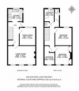 Floorplan 1 of 1 for 202 Walton Road