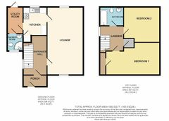Floorplan 1 of 1 for 136 Llanrumney Avenue
