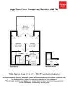Floorplan 1 of 1 for 70 High Trees Close